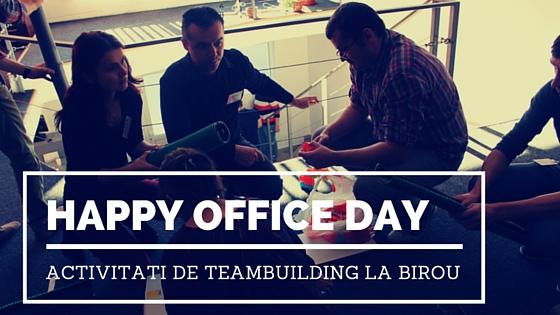 activitati de teambuilding la birou