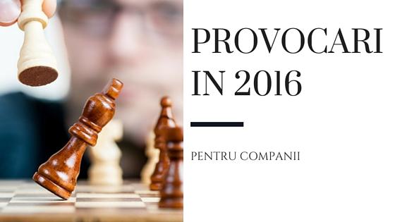provocarile 2016