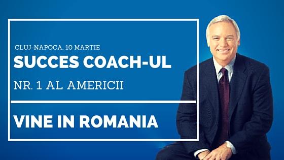 Jack Canfield vine la Cluj-Napoca