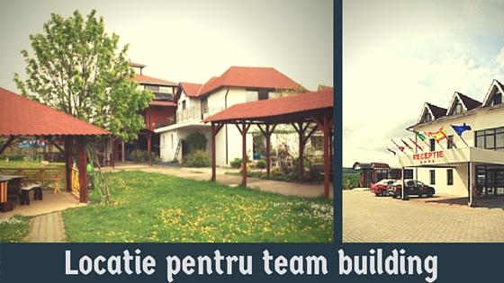 Locatie pentru team building