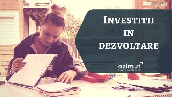 Investitii in dezvoltare