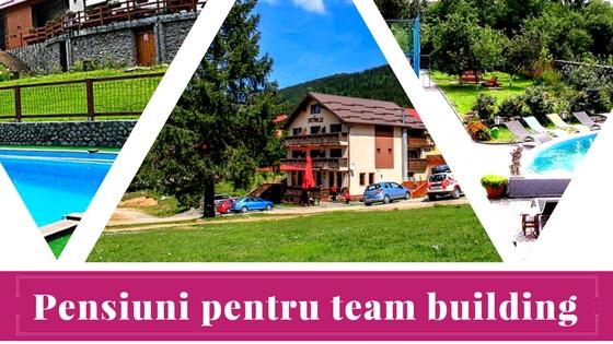 pensiuni pentru team building